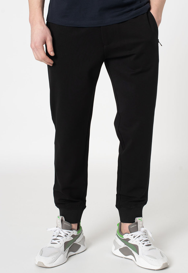 Pantaloni sport cu talie elastica imagine
