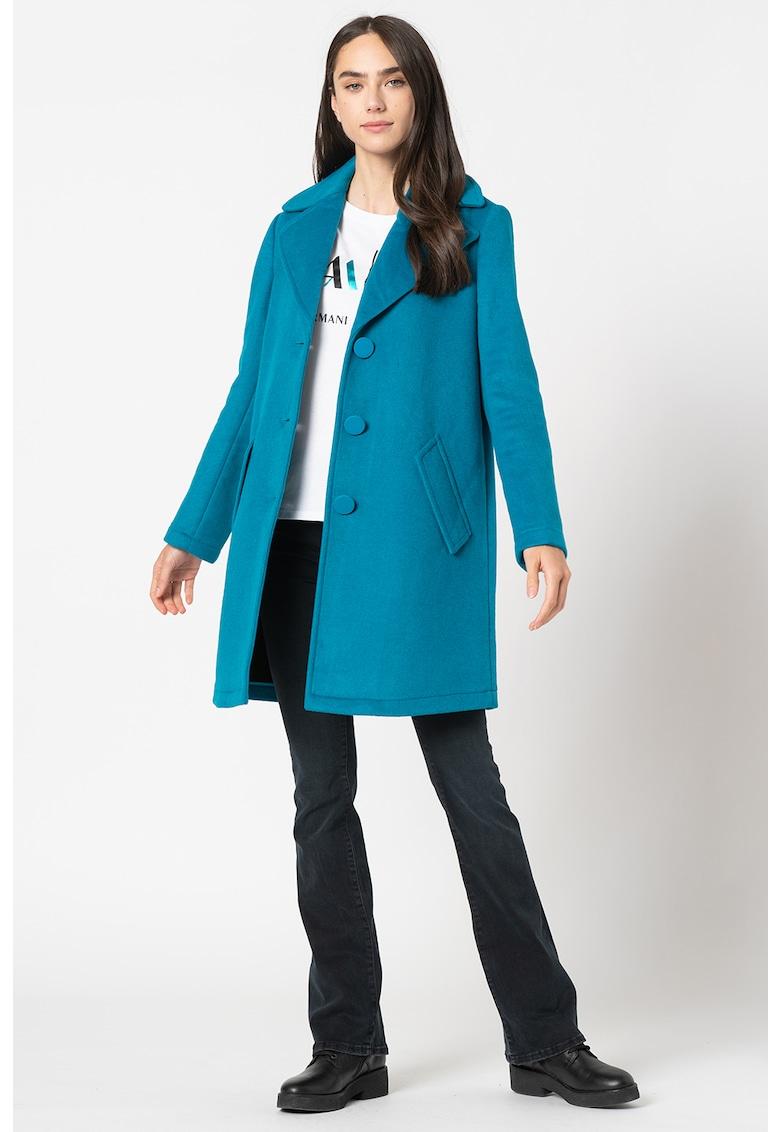 Palton din amestec de lana imagine promotie