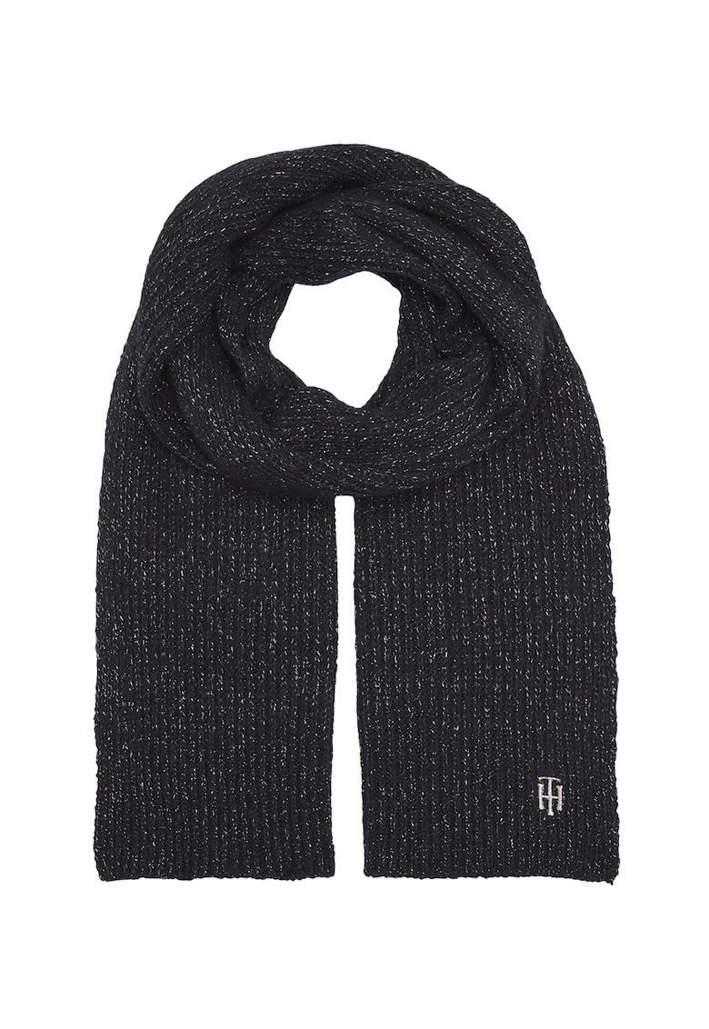 Fular din amestec de lana cu insertii din lurex imagine