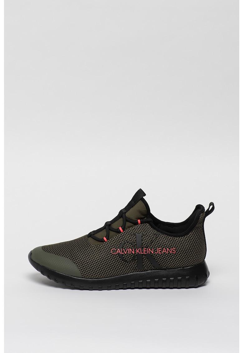 Pantofi sport de plasa cu logo Reiland