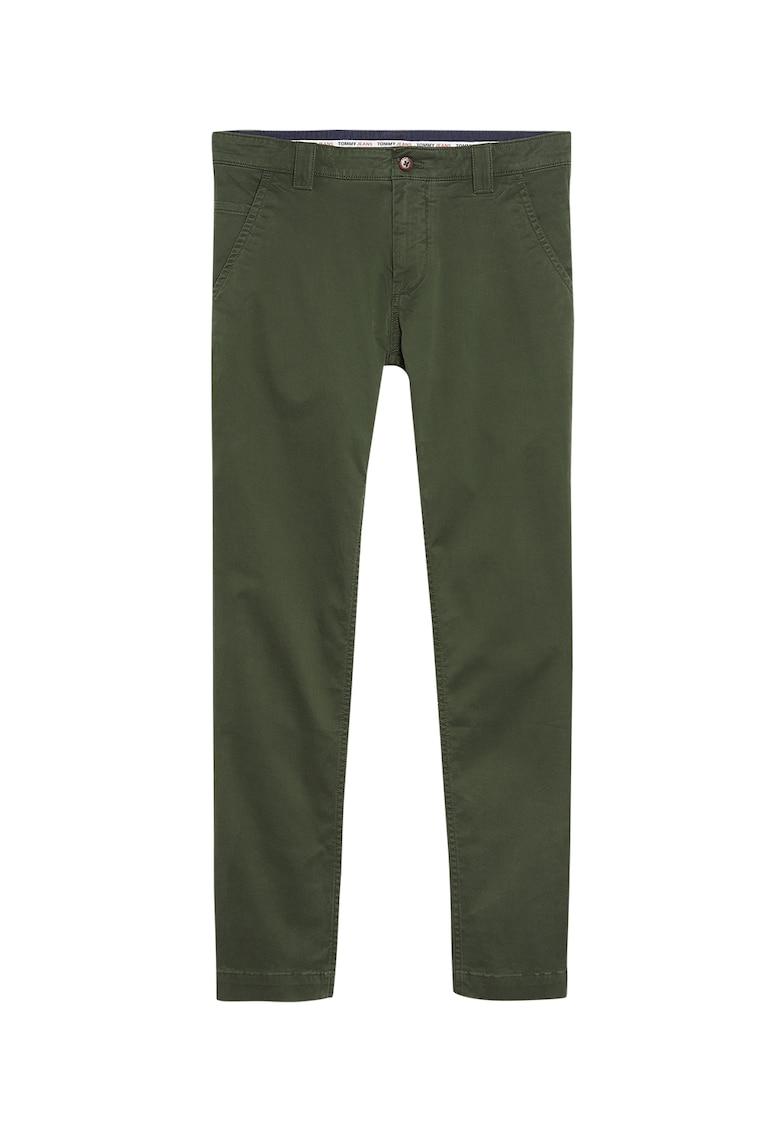 Pantaloni chino din amestec de bumbac organic imagine promotie