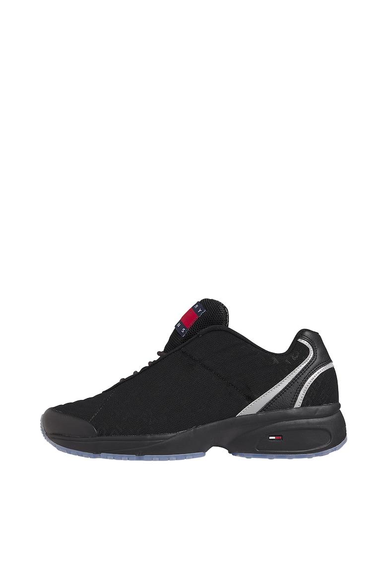 Pantofi sport cu garnituri de piele imagine promotie