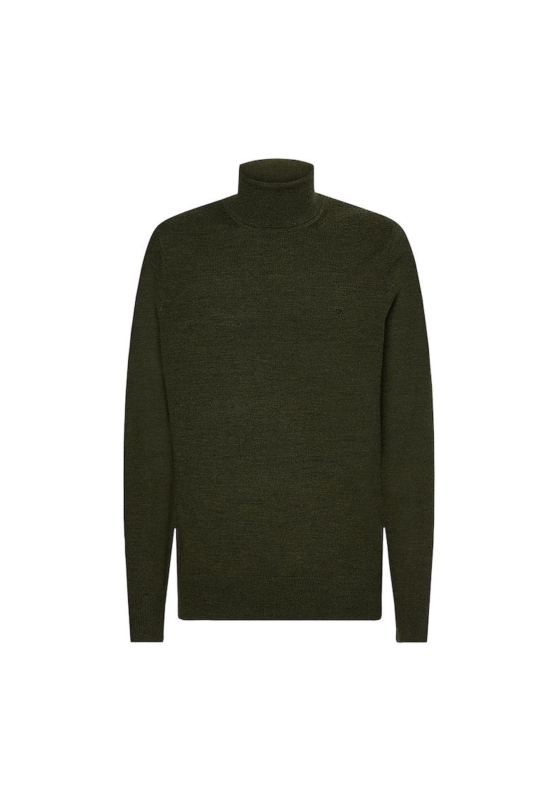 Pulover de lana cu guler inalt imagine promotie