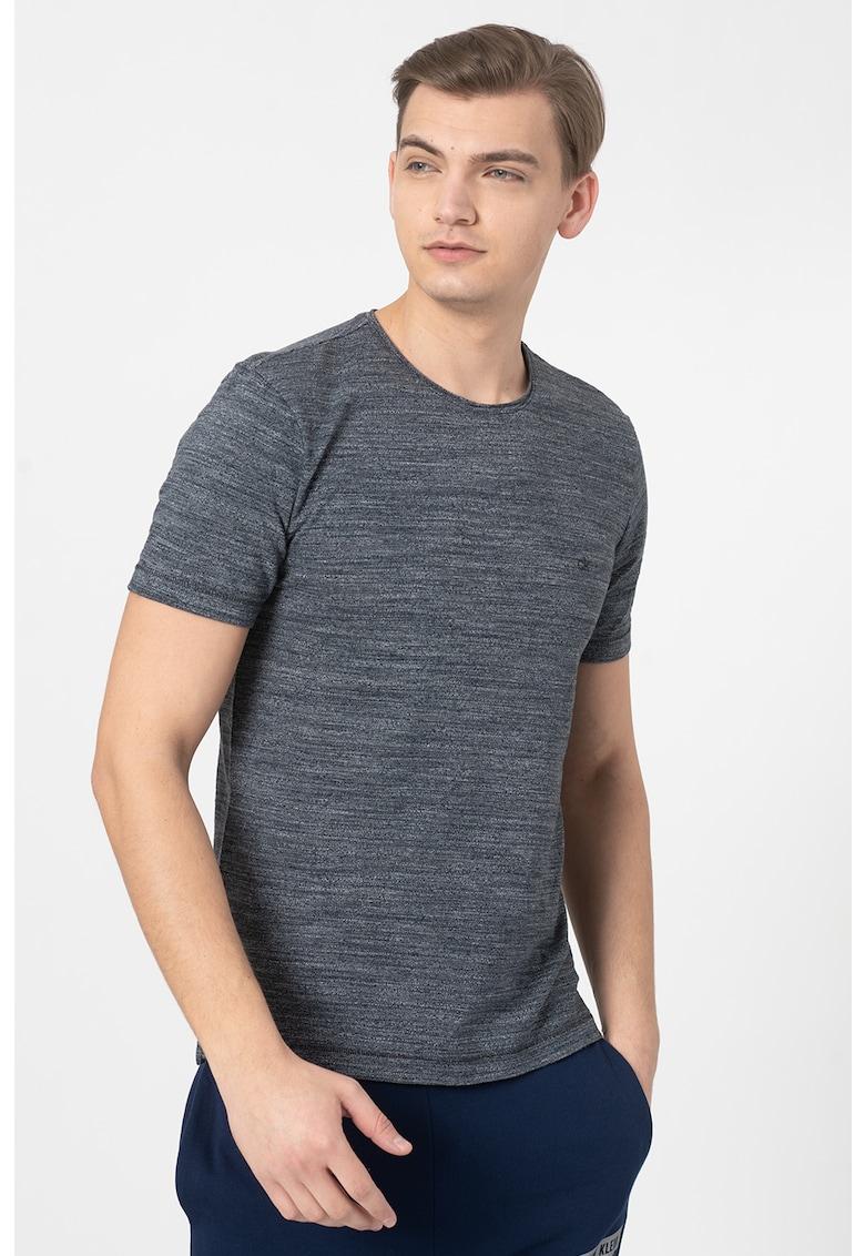 Camasa slim fit cu model abstract Bărbați imagine
