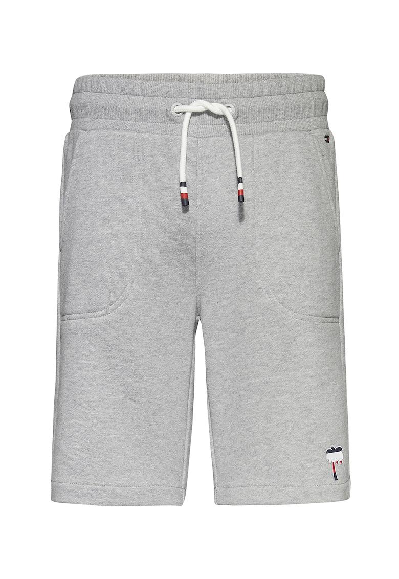 Pantaloni scurti din bumbac organic cu snur imagine