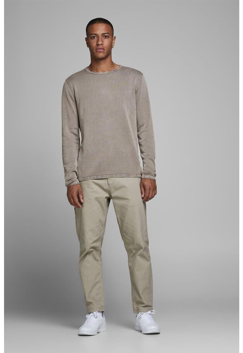 Bluza sport cu aspect de denim imagine