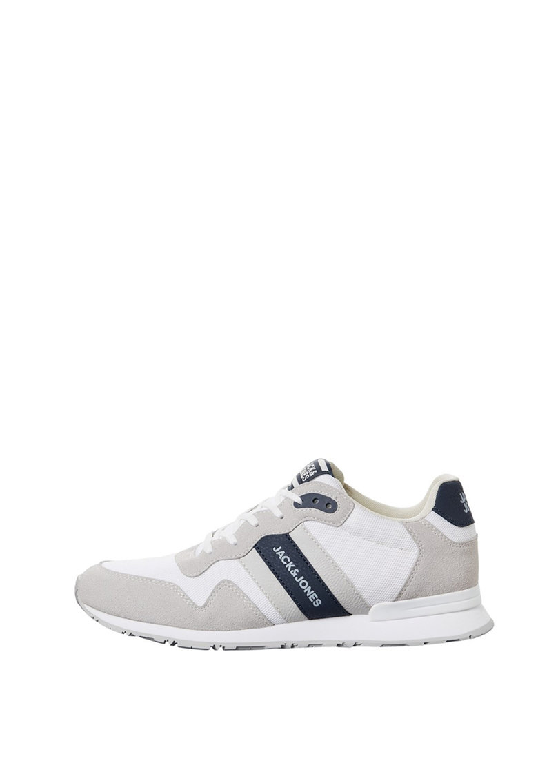 Pantofi sport cu garnituri de piele intoarsa ecologica imagine fashiondays.ro
