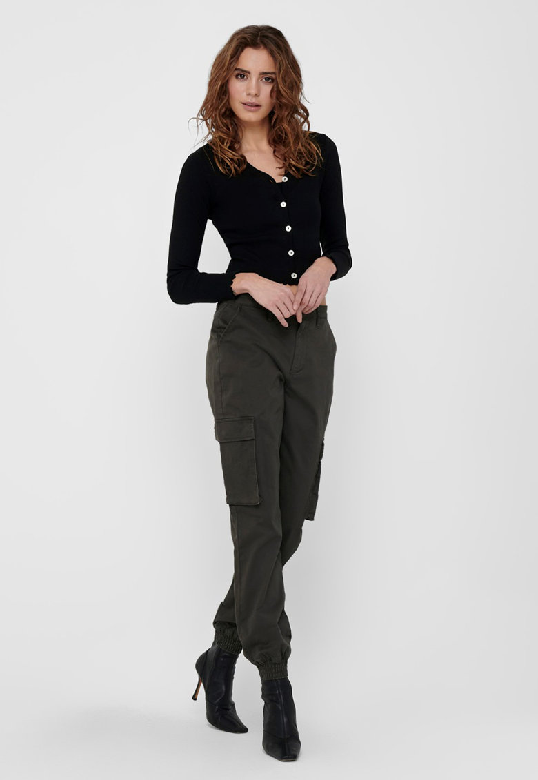 Set de top si cardigan - 2 piese imagine fashiondays.ro Only