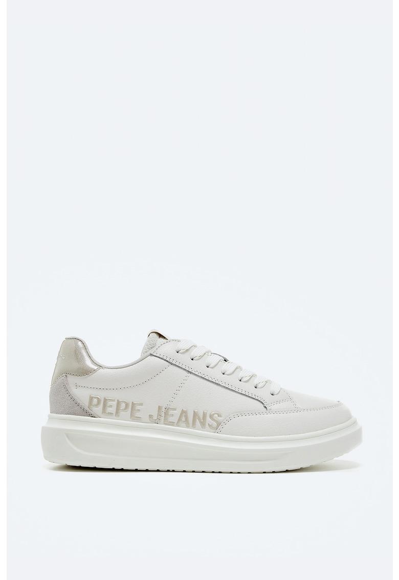 Pantofi sport din piele cu garnituri din piele intoarsa imagine fashiondays.ro 2021