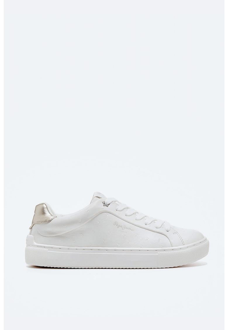 Pantofi sport din piele ecologica cu buline imagine fashiondays.ro 2021