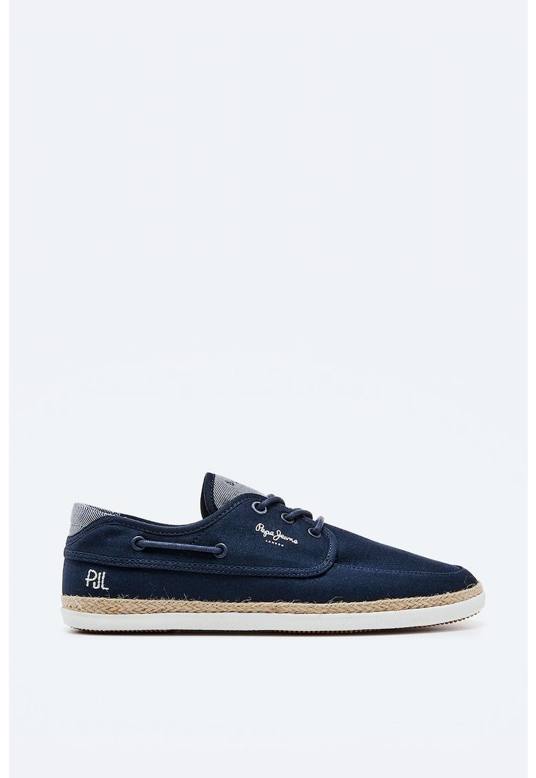 Pantofi loafer din panza imagine fashiondays.ro 2021