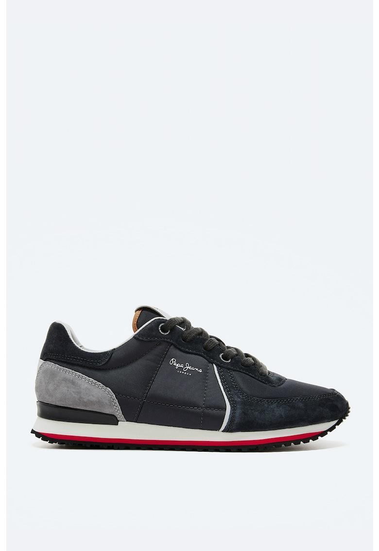 Pantofi sport cu garnituri de piele intoarsa imagine fashiondays.ro 2021