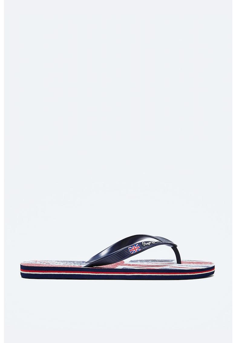 Papuci flip-flop de cauciuc