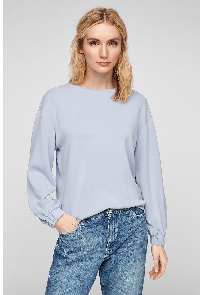 Bluza sport din amestec de modal
