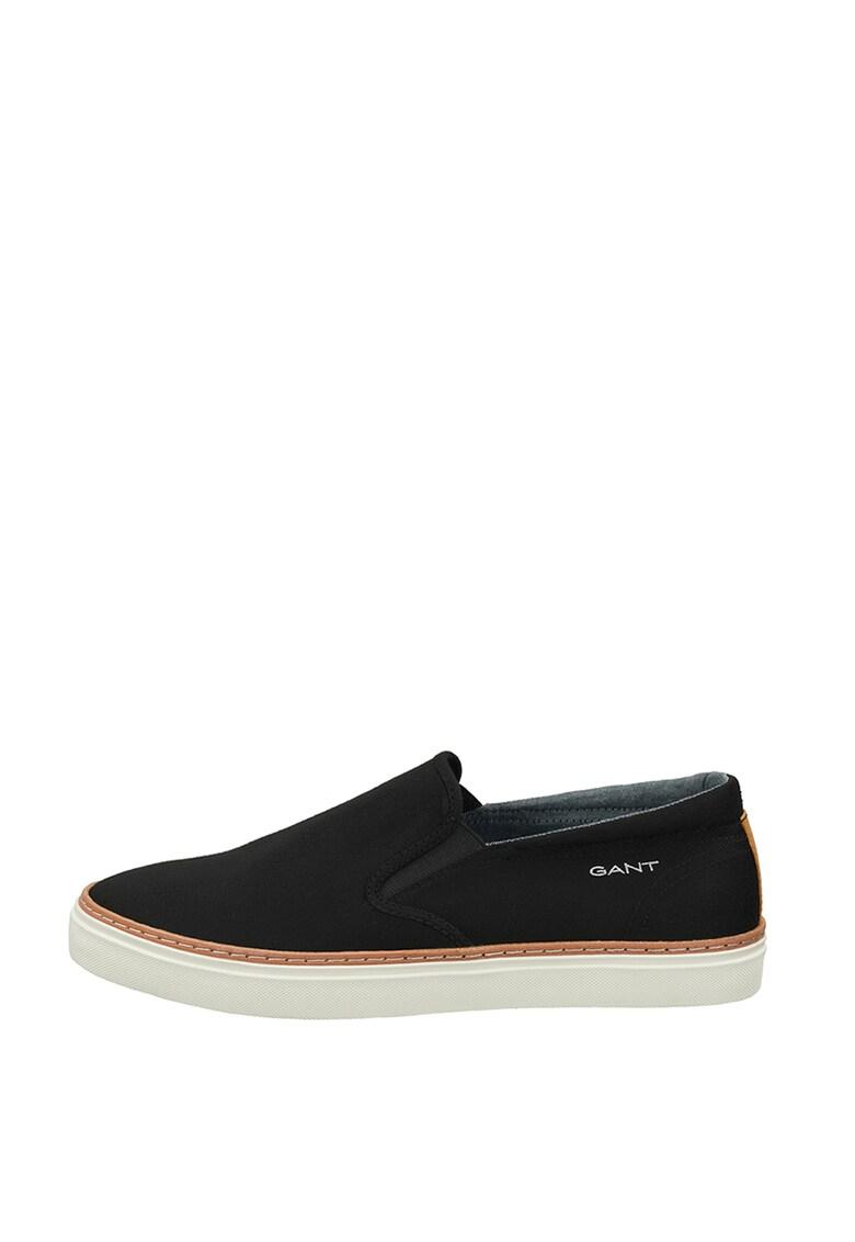 Pantofi slip-on din material textil imagine fashiondays.ro 2021