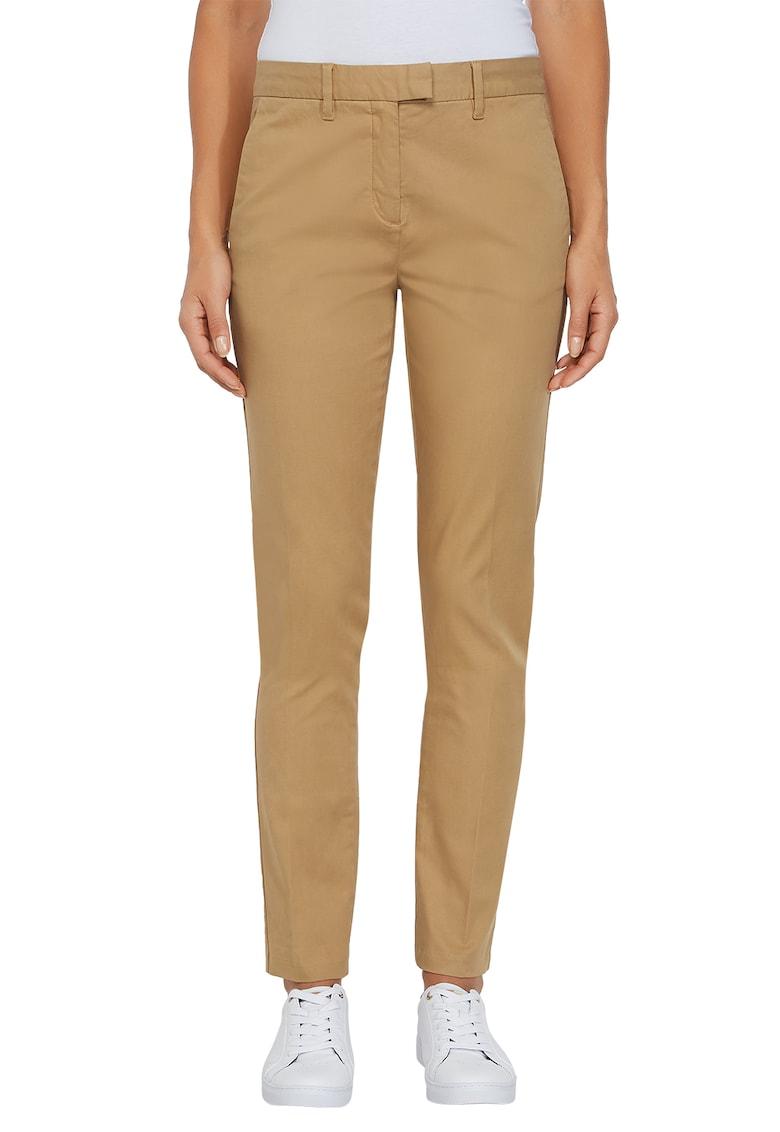 Pantaloni conici din amestec de bumbac organic