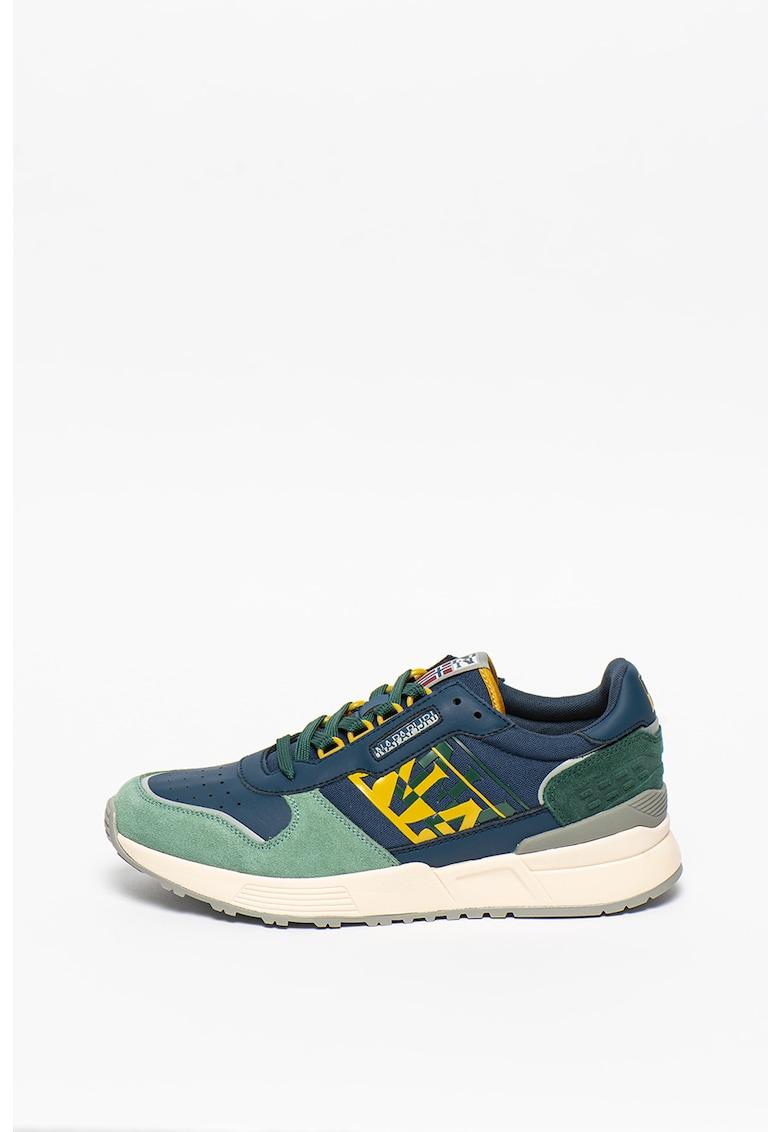 Pantofi sport cu model colorblock Sparrow imagine