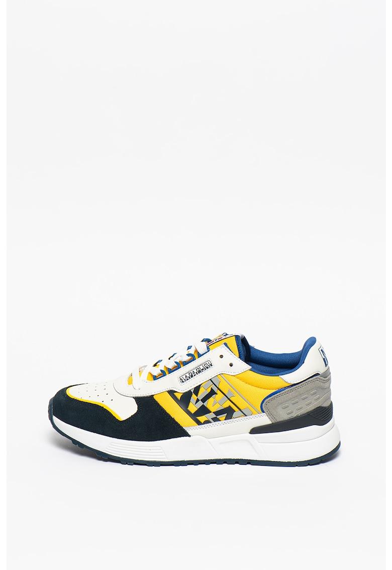 Pantofi sport cu model colorblock Sparrow Napapijri fashiondays.ro