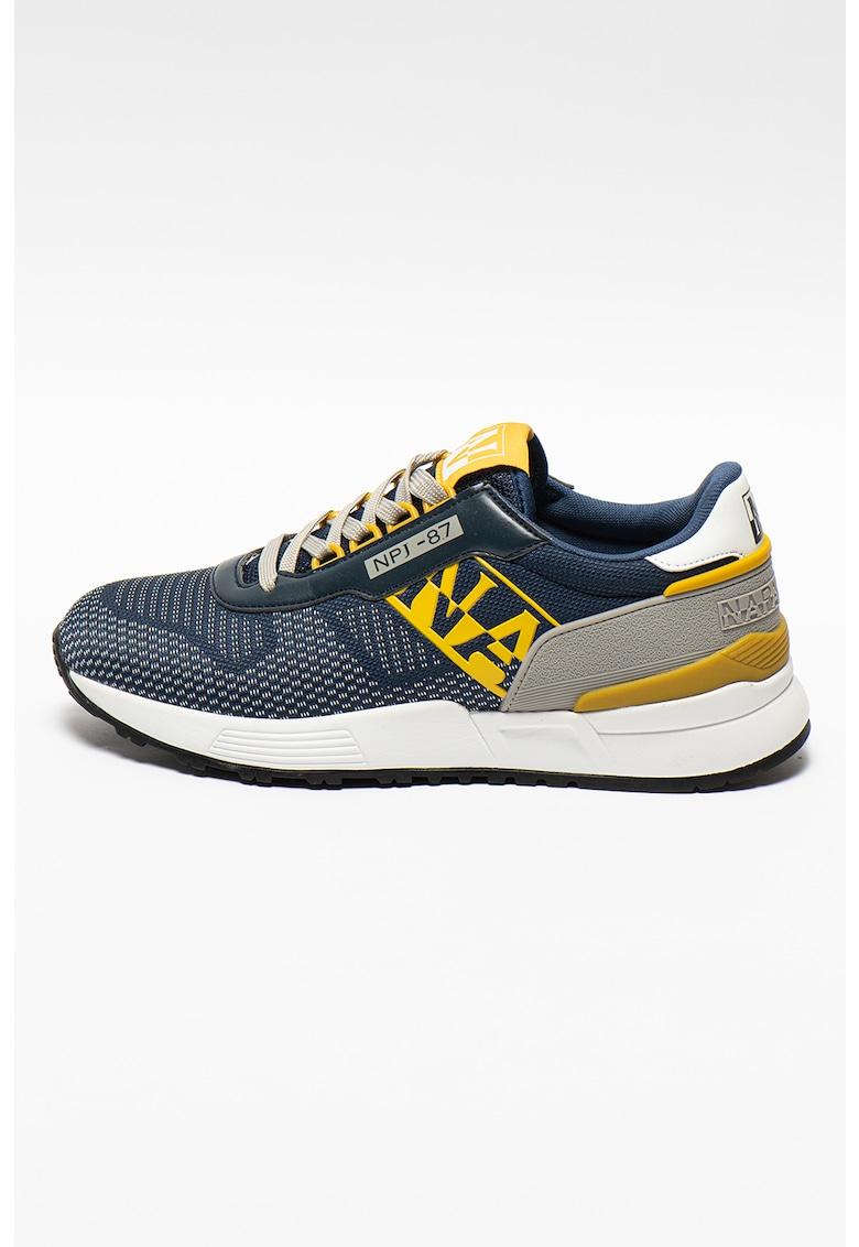Pantofi sport cu insertii de plasa Sparr