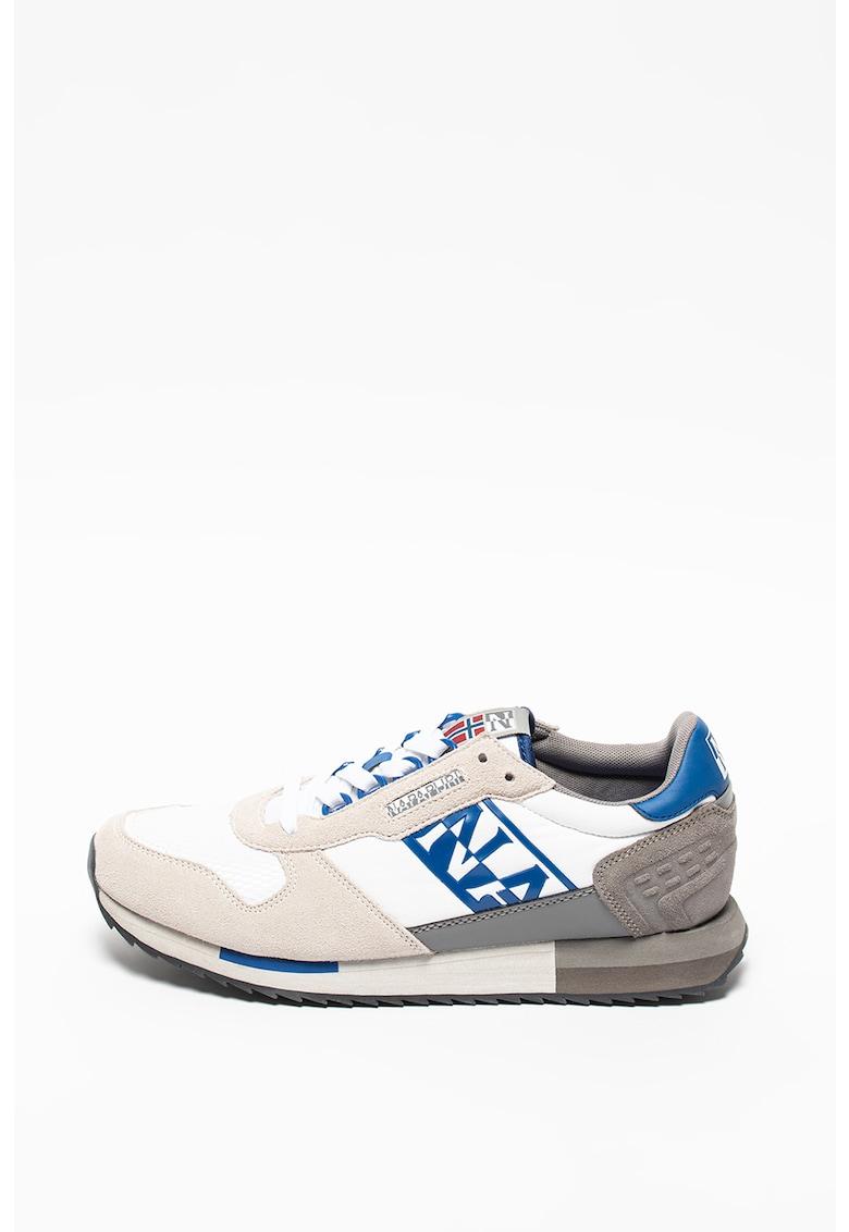 Pantofi sport cu insertii de piele Virtus