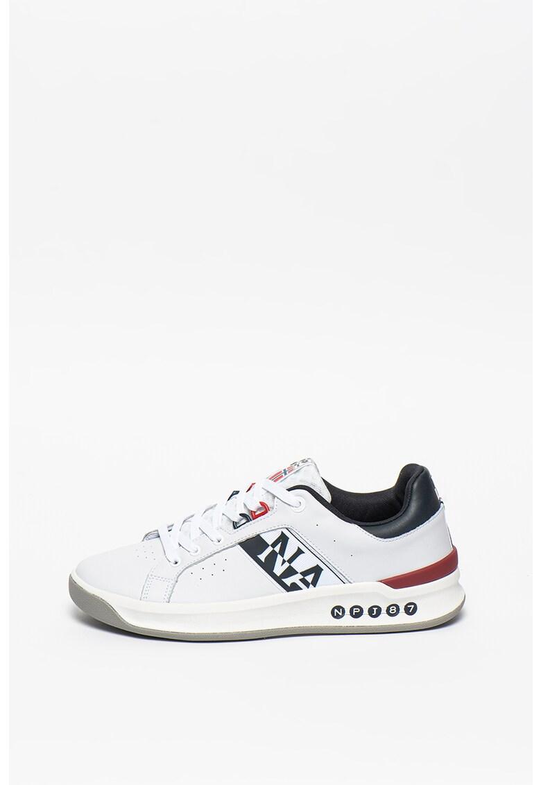 Pantofi sport cu garnituri de piele Egret