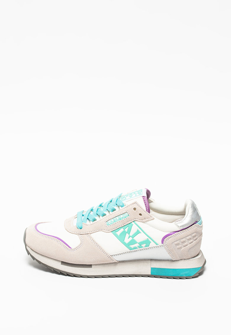 Pantofi sport de piele cu logo Vicky imagine