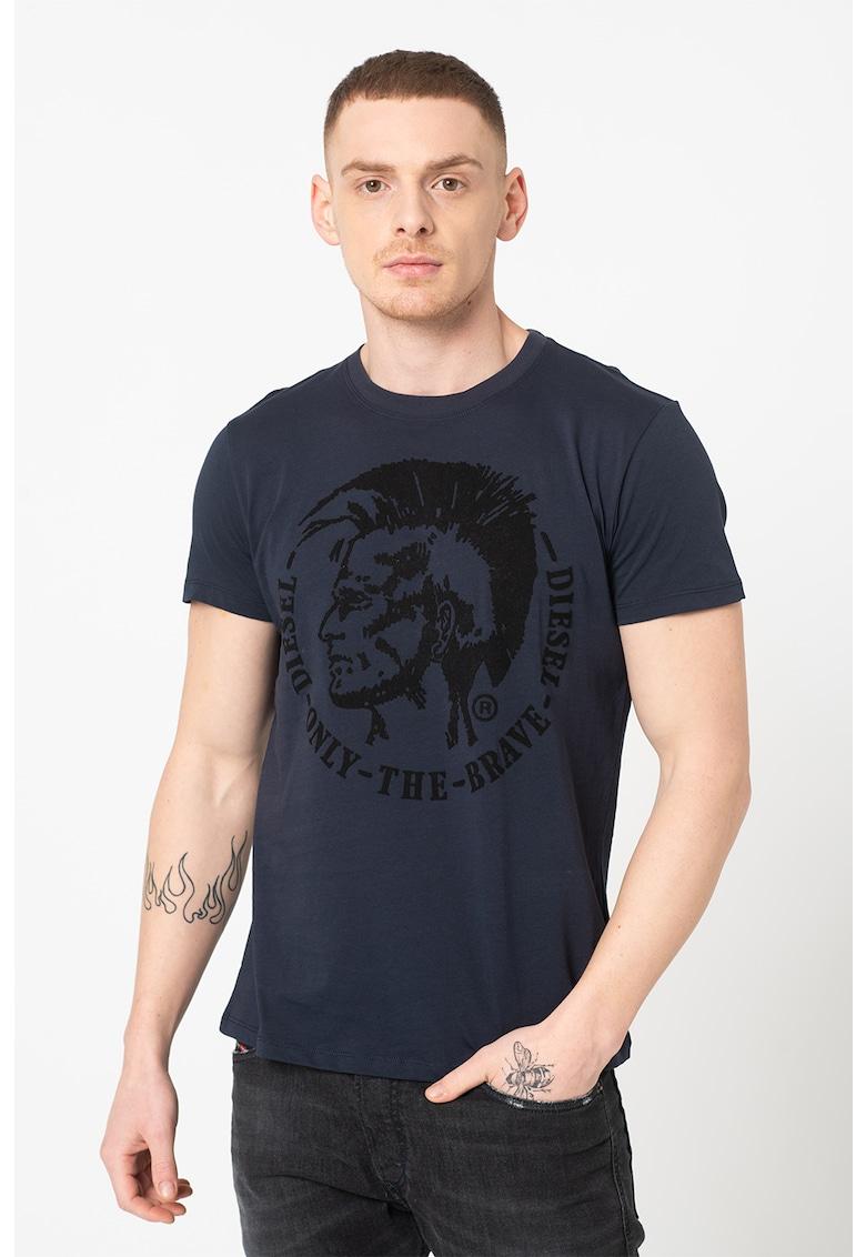 Tricou cu imprimeu logo Diego Bărbați imagine