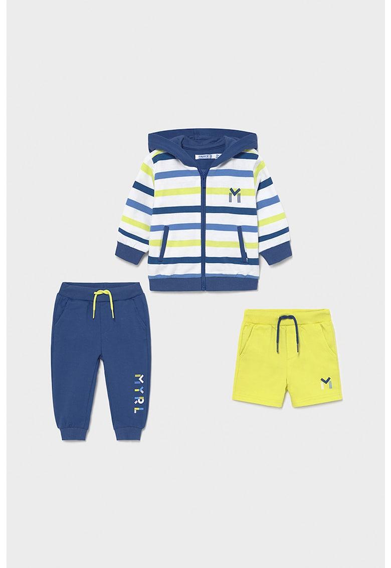 Set de hanorac - pantaloni sport si pantaloni scurti - 3 piese fashiondays.ro