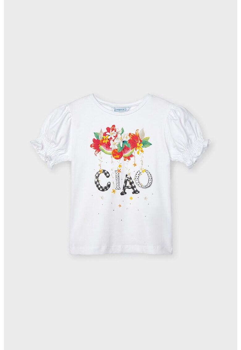 Tricou cu imprimeu grafic fashiondays.ro