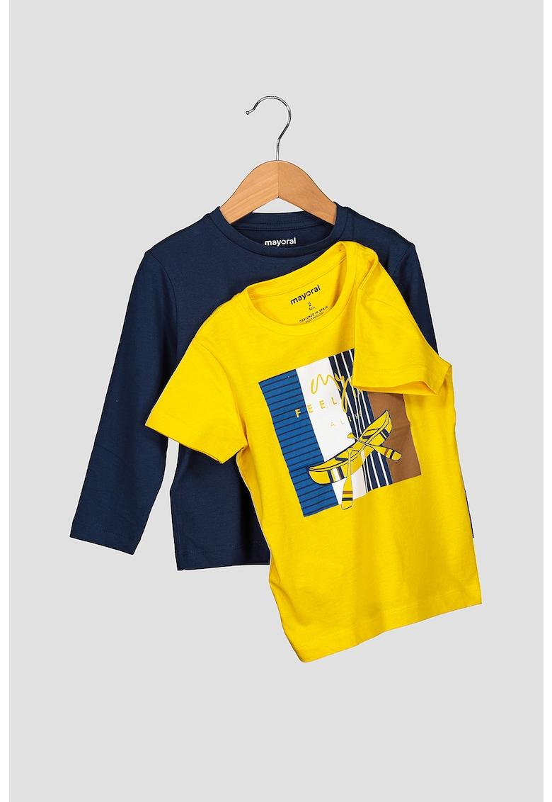 Set de bluza si tricou poza fashiondays