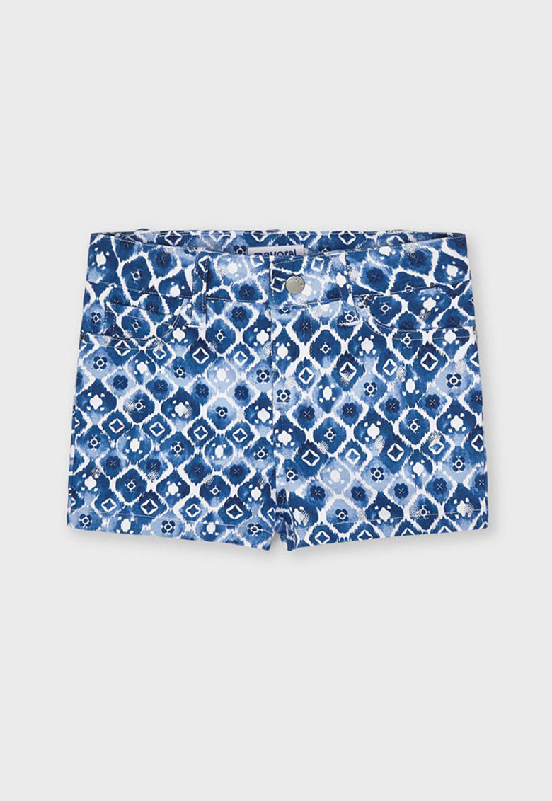 Pantaloni scurti cu model tie-dye fashiondays.ro
