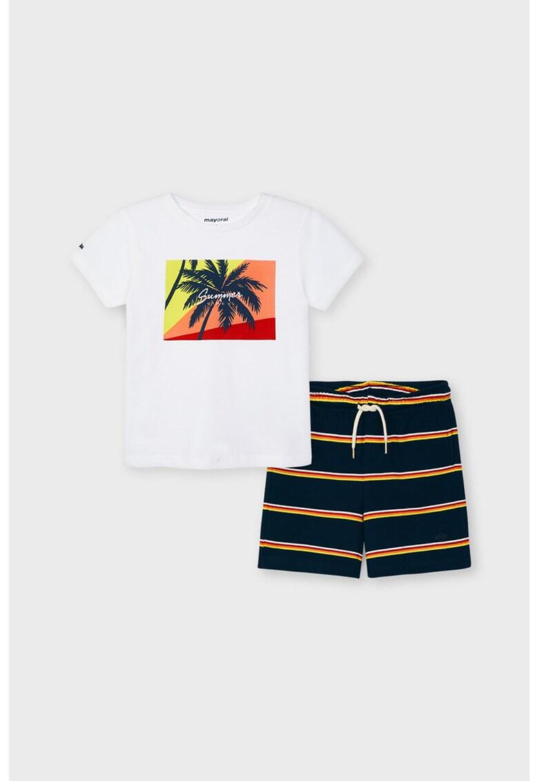 Set de tricou si pantaloni scurti