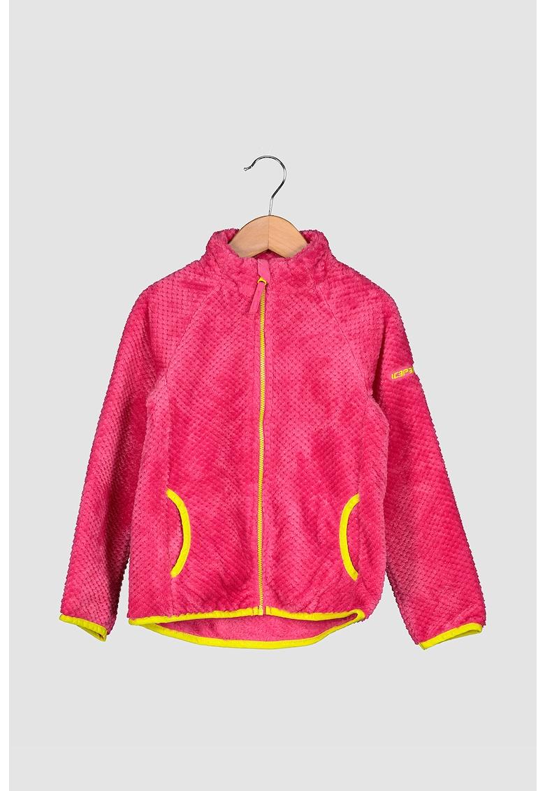 Bluza sport din material teddy pentru sporturile de iarna Kimball