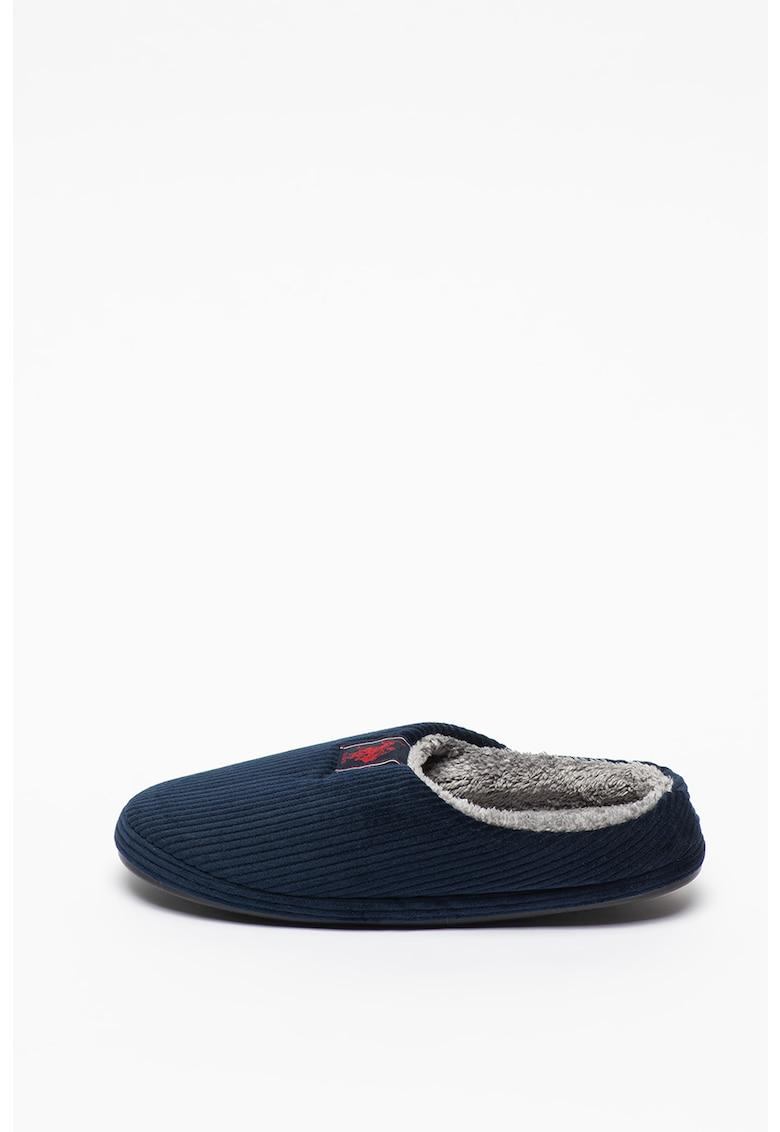Papuci de casa cu aspect striat Otto imagine