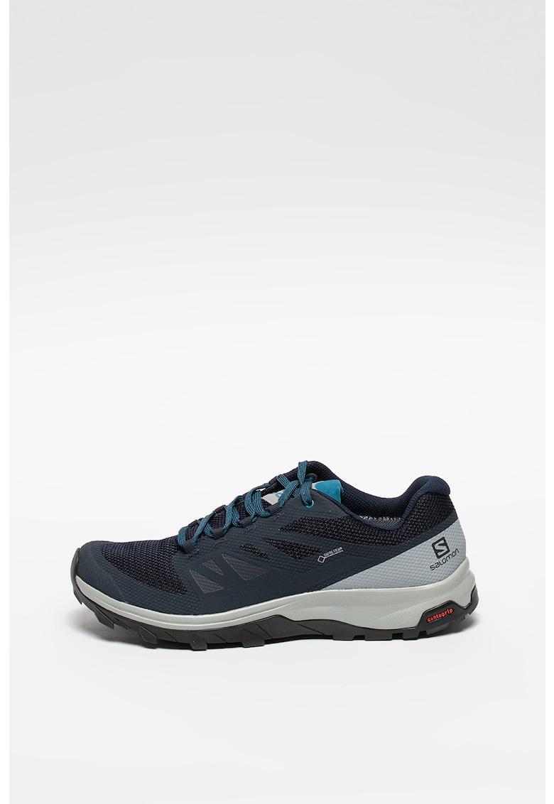 Pantofi cu detalii peliculizate pentru drumetii OUTline MID GTX