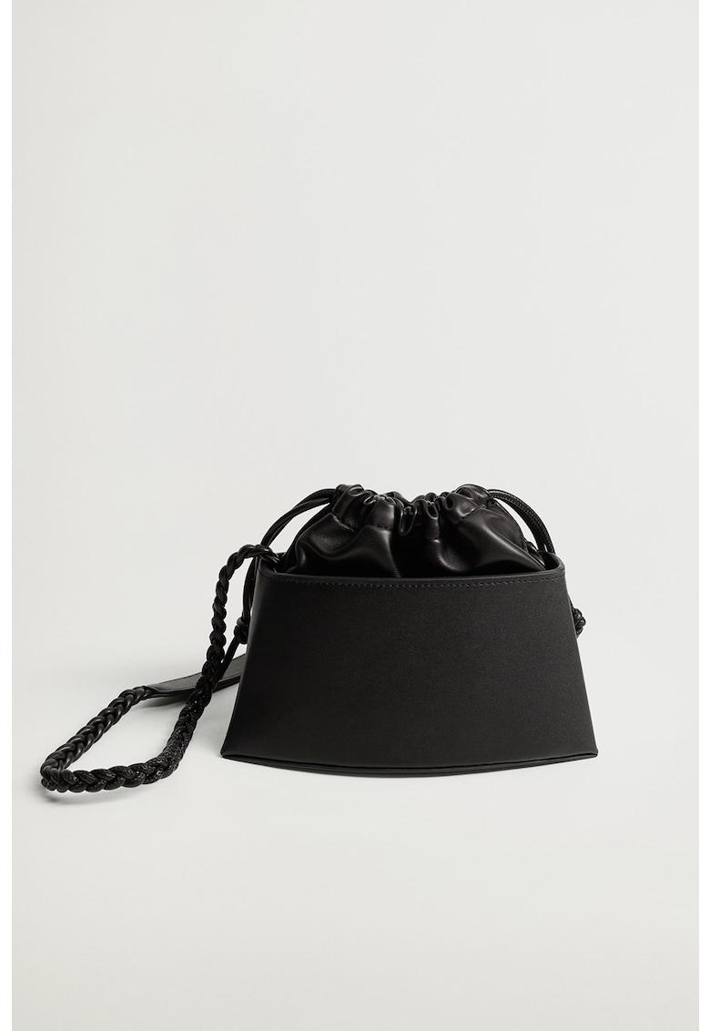 Geanta bucket de piele ecologica Edan imagine promotie