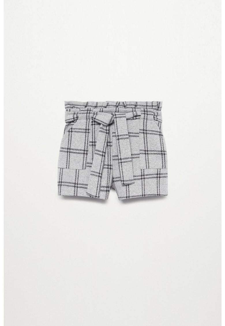 Pantaloni scurti in carouri Melcuad imagine