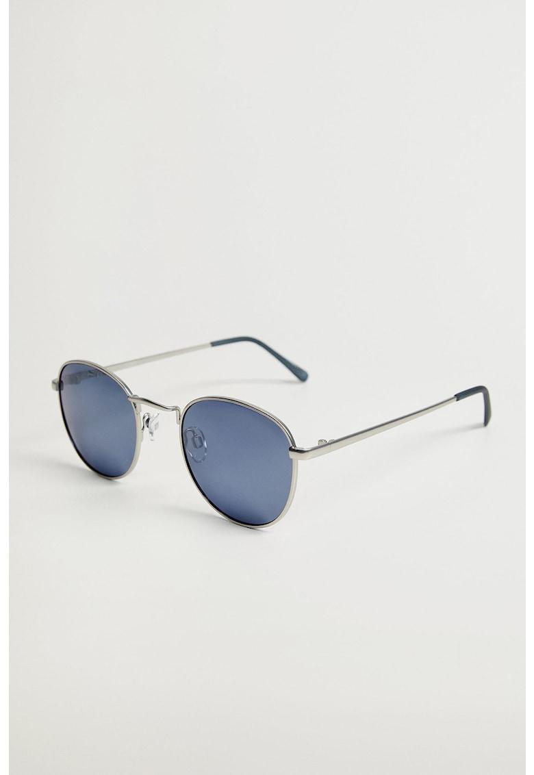 Ochelari de soare rotunzi cu lentile oglinda Mango fashiondays.ro
