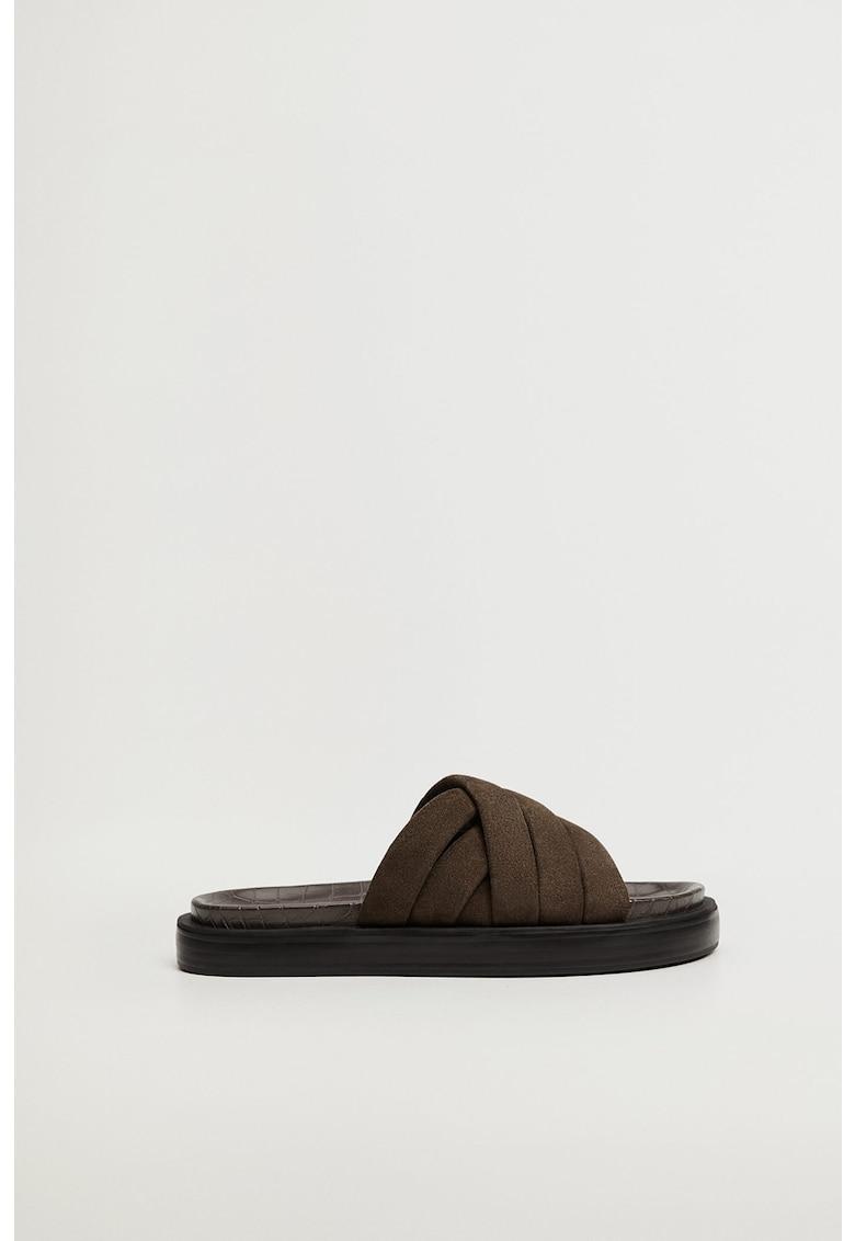 Papuci de piele intoarsa Comfy