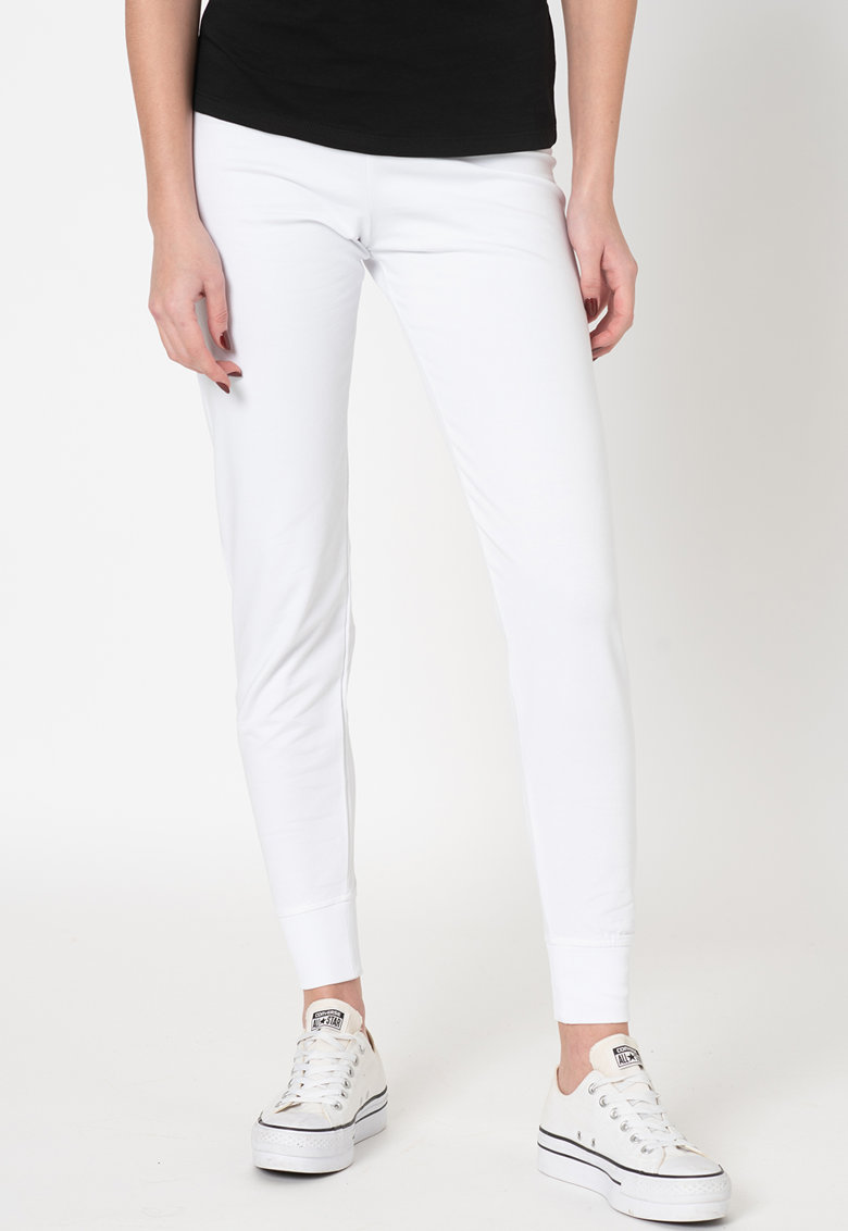 Pantaloni sport slim fit cu snur de ajustare in talie