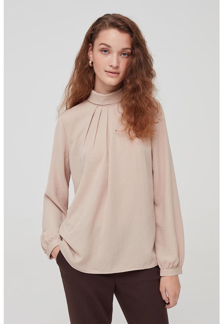 Bluza cu detaliu plisat imagine
