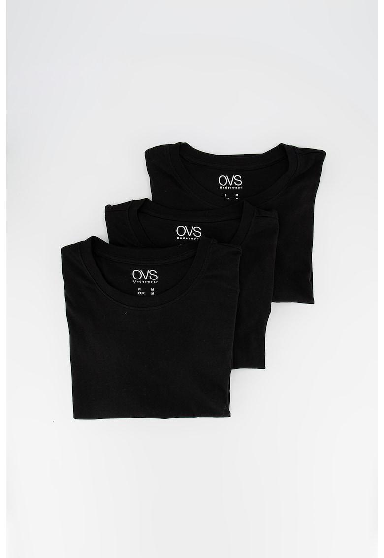 Set de tricouri de casa - din bumbac - 3 piese Bărbați imagine