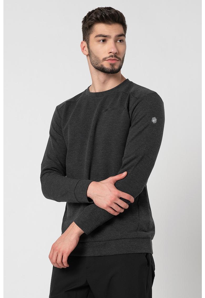 Bluza unisex cu decolteu la baza gatului pentru fitness si antrenament imagine fashiondays.ro 2021