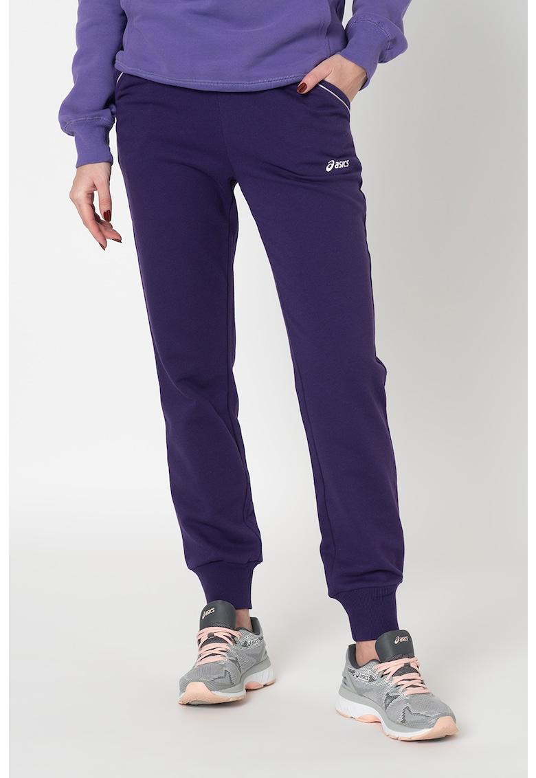 Pantaloni slim fit cu snur in talie - pentru fitness imagine fashiondays.ro
