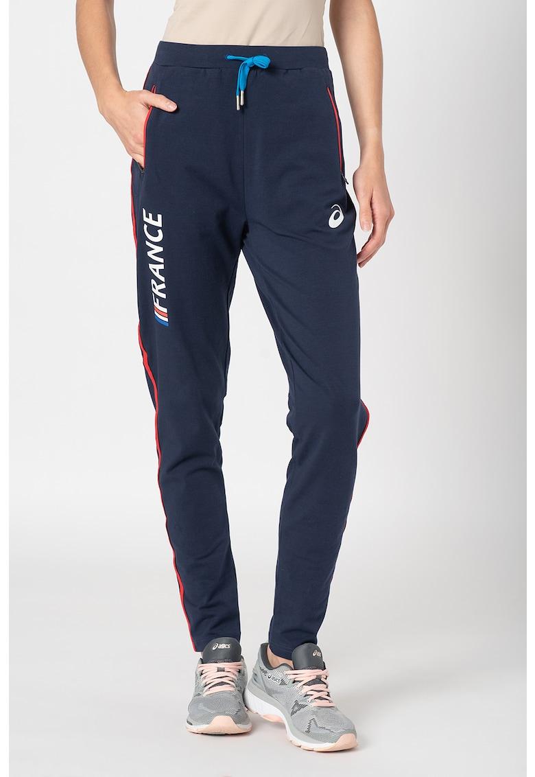 Pantaloni sport cu snur in talie - pentru antrenament imagine promotie