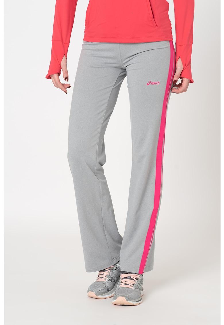 Pantaloni sport cu talie joasa - pentru fitness