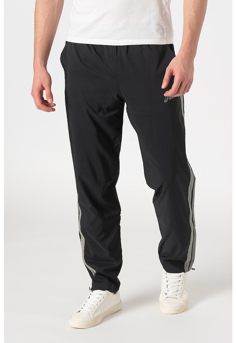 Pantaloni sport cu buzunare laterale pentru fitness Asics fashiondays.ro