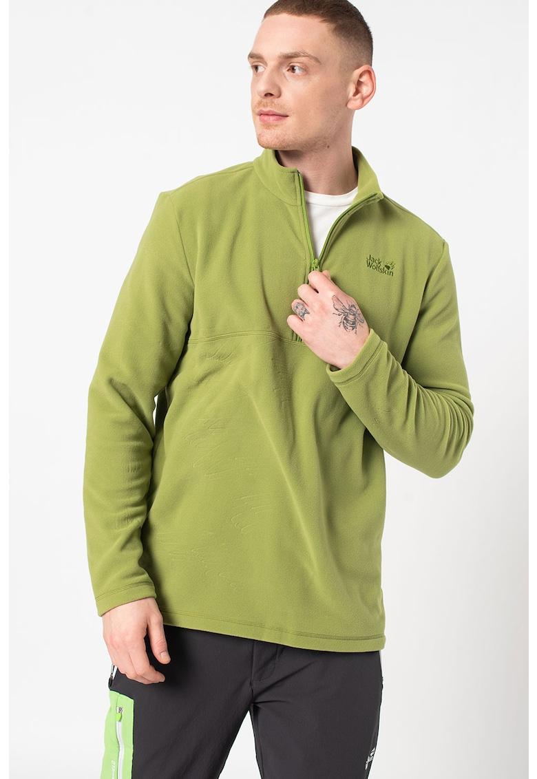 Bluza de fleece cu fenta cu fermoar - pentru drumetii Gecko imagine