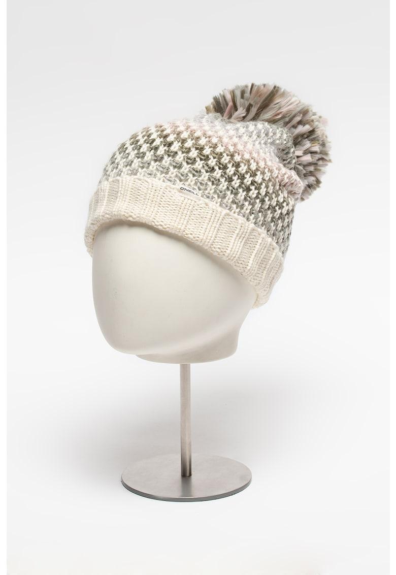 Caciula din amestec de lana cu ciucure Crescent imagine