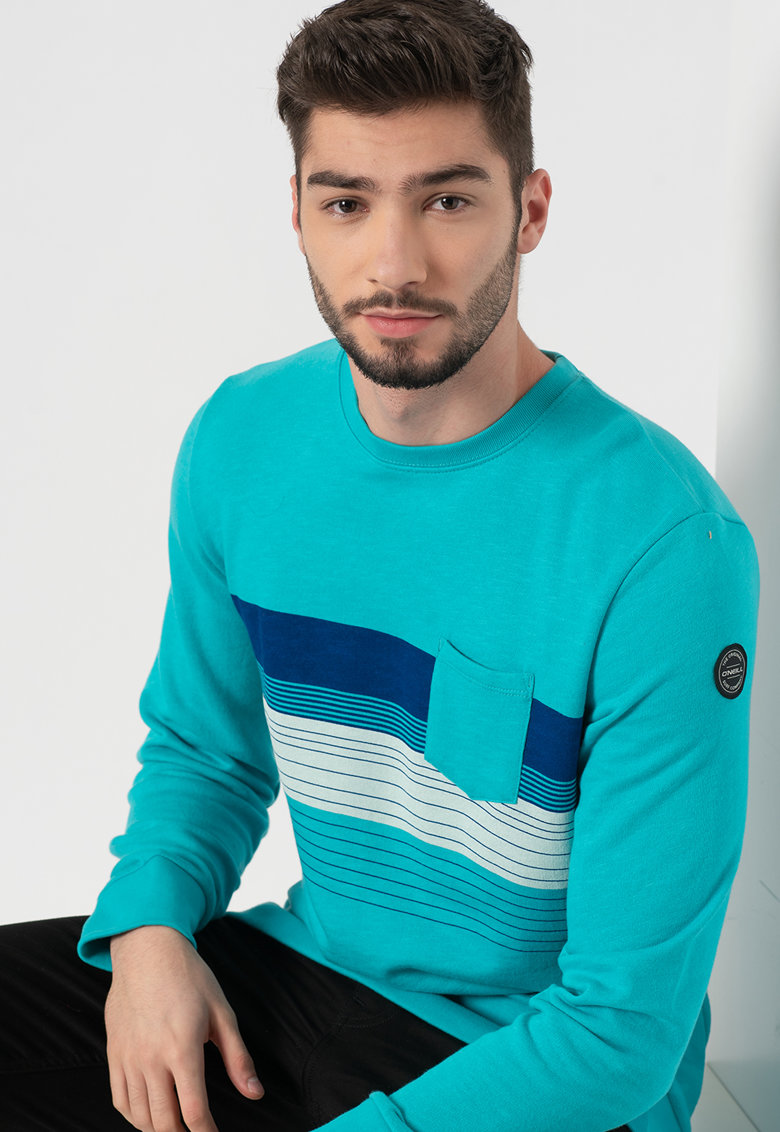 O´Neill - Bluza sport cu decolteu la baza gatului Yardage poza fashiondays